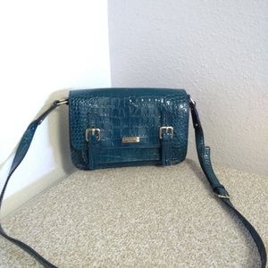 Kate Spade NY Blue Embossed Leather Bag